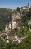 Rocamadour - Lot region - France Stock Images