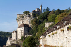 Rocamadour, a medieval village Royalty Free Stock Photos