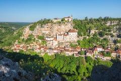 Rocamadour no departamento do lote em França fotos de stock royalty free