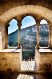Rocamadour, one of the most beautiful village in France, religious destination Stock Photos