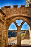 Rocamadour, one of the most beautiful village in France, religious destination Stock Images