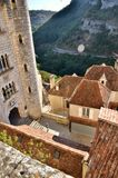 Rocamadour, one of the most beautiful village in France, religious destination Royalty Free Stock Photos