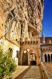 Rocamadour, one of the most beautiful village in France, religious destination Stock Image