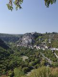Rocamadour Panaroma Royalty Free Stock Photo