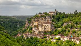 Rocamadour, Provence, France stock photography