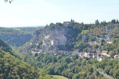 Rocamadour, pueblo del patrimonio mundial en Francia fotos de archivo
