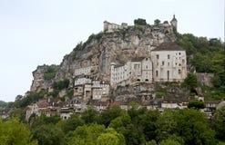 Rocamadour Tagesschuß, Frankreich Stockbilder