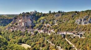 Rocamadour - udział - Francja zdjęcia royalty free