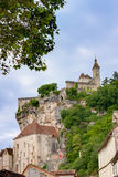 Rocamadour. View on Rocamadour in France Royalty Free Stock Photos