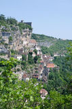 Rocamadour. The village of Rocamadour in France Stock Photography