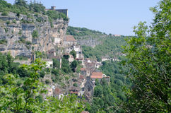 Rocamadour. The village of Rocamadour in France Royalty Free Stock Photography