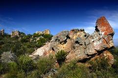 Rocas abstractas Fotografía de archivo