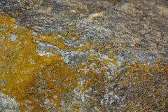 Rocas amarillas viejas Imagen de archivo libre de regalías