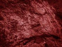 Rocas ascendentes cercanas del rojo Fotografía de archivo