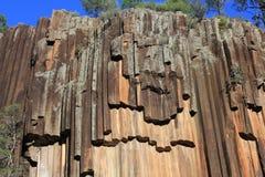 Rocas aserradas, parque nacional del Mt Kaputar fotografía de archivo libre de regalías