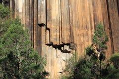 Rocas aserradas, parque nacional del Mt Kaputar fotos de archivo libres de regalías