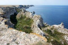 Rocas asombrosas de la erosión Foto de archivo libre de regalías