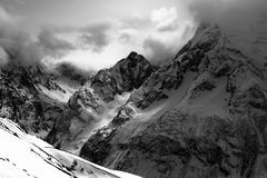 Rocas austeras Fotografía de archivo