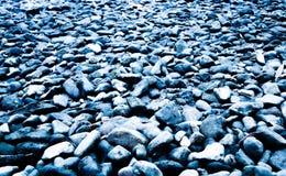 Rocas azules Imágenes de archivo libres de regalías
