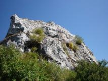 Rocas blancas Fotografía de archivo