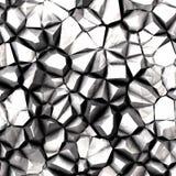 Rocas blancas ilustración del vector
