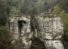 Rocas blancas Fotos de archivo