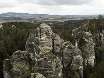 Rocas blancas Imagen de archivo libre de regalías