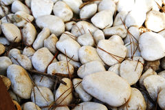 Rocas blancas imágenes de archivo libres de regalías