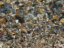Rocas claras del agua Fotografía de archivo libre de regalías