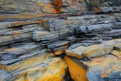 Rocas coloridas Fotografía de archivo