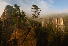 Rocas de Adrspach Fotografía de archivo libre de regalías