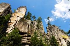Rocas de Adrspach Imagen de archivo
