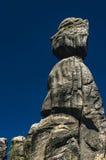 Rocas de Adrspach-Teplice, República Checa Imagen de archivo