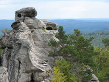 Rocas de Aracul Foto de archivo libre de regalías