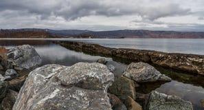 Rocas de Baikal Imagen de archivo libre de regalías