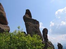 Rocas de Belogradchik Imágenes de archivo libres de regalías