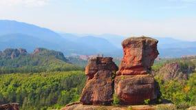 Rocas de Belogradchik, Bulgaria Foto de archivo libre de regalías