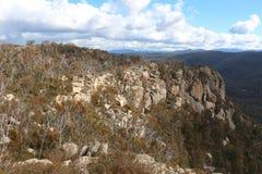 Rocas de Booroomba Imagenes de archivo