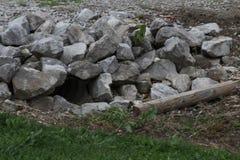 Rocas de Boulder Fotografía de archivo libre de regalías