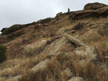 Rocas de California Foto de archivo