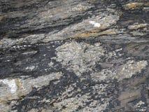 Rocas de Coastal del irlandés Foto de archivo libre de regalías