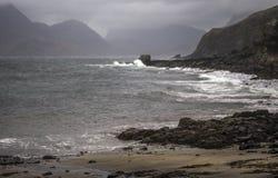 Rocas de Elgol Imagen de archivo