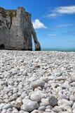 Rocas de Etretat Foto de archivo libre de regalías