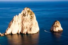 Rocas de Faros Imagenes de archivo