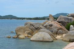 Rocas de Hin TA Hin Ya Fotos de archivo