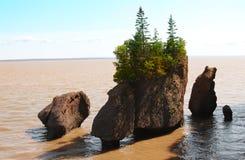 Rocas de Hopewell Imagen de archivo