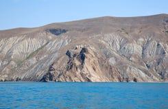 Rocas de Kara Dag Fotografía de archivo