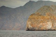 Rocas de Khasab Fotos de archivo libres de regalías