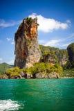Rocas de Krabi Imagen de archivo