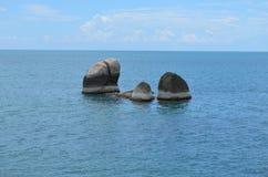 Rocas de la American National Standard de Ozean Foto de archivo